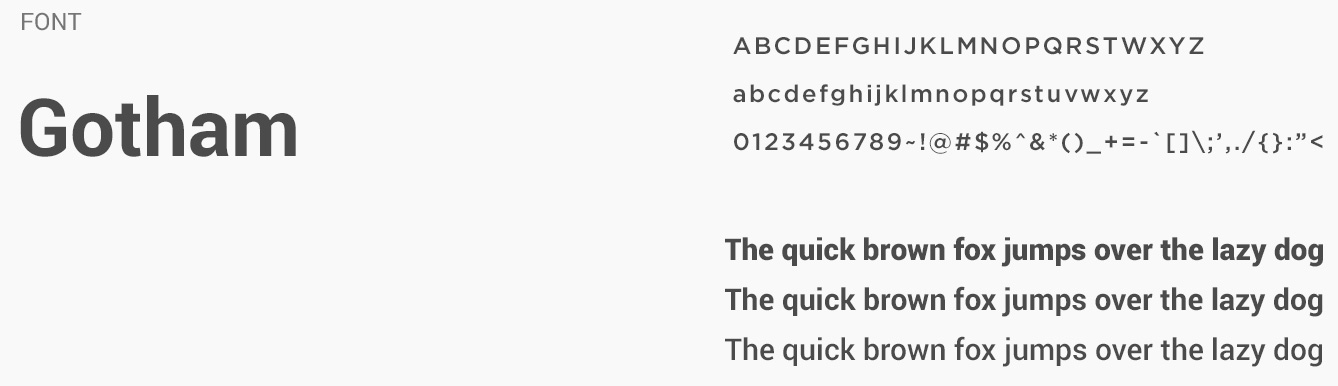 Font And Font Family Used In Securify
