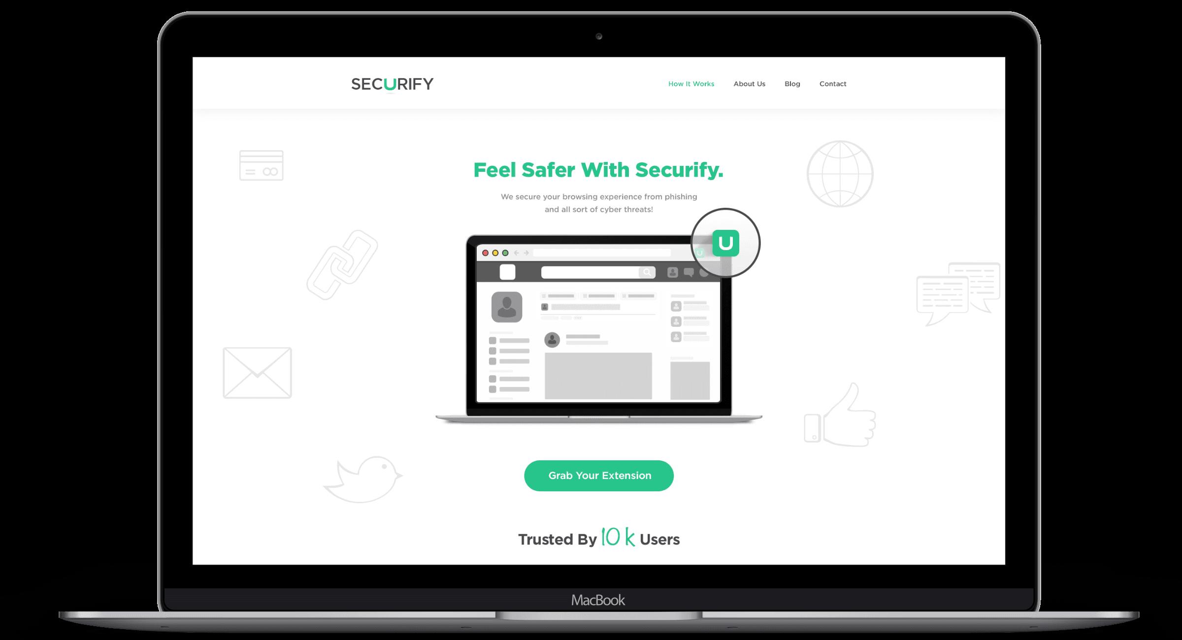 Securify UI UX Website Design